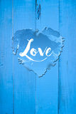 Χαιρετισμοί αγάπης Στοκ εικόνα με δικαίωμα ελεύθερης χρήσης