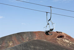 Χαιρετισμοί από Etna Στοκ φωτογραφίες με δικαίωμα ελεύθερης χρήσης