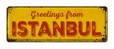 Χαιρετισμοί από Istanb στοκ εικόνες