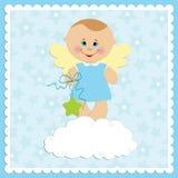 χαιρετισμοί καρτών μωρών ελεύθερη απεικόνιση δικαιώματος