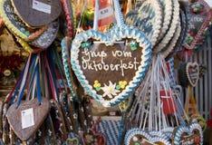 χαιρετισμοί οι πιό oktoberfestι Στοκ Φωτογραφία