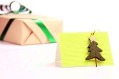 χαιρετισμός δώρων καρτών Στοκ Εικόνες