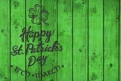 Χαιρετισμός ημέρας του ST Patricks Στοκ εικόνες με δικαίωμα ελεύθερης χρήσης