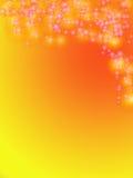χαιρετισμός καρτών ανασκό&pi Στοκ εικόνα με δικαίωμα ελεύθερης χρήσης