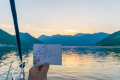 χαιρετισμός καρτών γενε&theta Στοκ Φωτογραφία