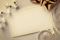 χαιρετισμός καρτών Στοκ εικόνες με δικαίωμα ελεύθερης χρήσης
