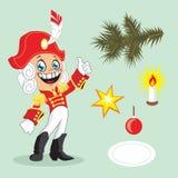 χαιρετισμός καλή χρονιά καρτών του 2007 επίσης corel σύρετε το διάνυσμα απεικόνισης Στοκ εικόνες με δικαίωμα ελεύθερης χρήσης