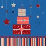 χαιρετισμός καλή χρονιά καρτών του 2007 Στοκ Φωτογραφίες