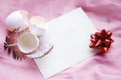 χαιρετισμός Πάσχας καρτών Στοκ φωτογραφία με δικαίωμα ελεύθερης χρήσης