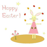 χαιρετισμός Πάσχας καρτών ελεύθερη απεικόνιση δικαιώματος