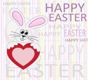 χαιρετισμός Πάσχας καρτών &ep Στοκ Εικόνα
