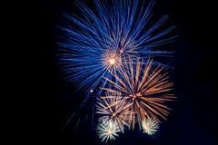 Χαιρετισμός πυροτεχνημάτων Στοκ φωτογραφία με δικαίωμα ελεύθερης χρήσης