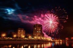 Χαιρετισμός στην πόλη του Ορέλ Στοκ Εικόνες
