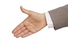 χαιρετισμός χειρονομία&sigmaf στοκ φωτογραφία με δικαίωμα ελεύθερης χρήσης