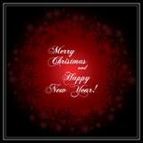 χαιρετισμός Χριστουγέννων καρτών Εγγραφή Καλών Χριστουγέννων Στοκ φωτογραφίες με δικαίωμα ελεύθερης χρήσης