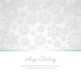 χαιρετισμός Χριστουγέννων καρτών Στοκ Φωτογραφία