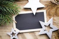 χαιρετισμός Χριστουγέννων καρτών Στοκ φωτογραφίες με δικαίωμα ελεύθερης χρήσης