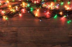 χαιρετισμός Χριστουγέννων καρτών Στοκ φωτογραφία με δικαίωμα ελεύθερης χρήσης
