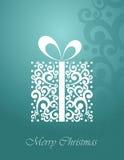 χαιρετισμός Χριστουγέννων καρτών ελεύθερη απεικόνιση δικαιώματος