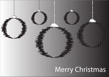 χαιρετισμός Χριστουγέννων καρτών στοκ φωτογραφίες