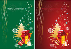 Χαιρετισμός Χριστουγέννων Στοκ Εικόνα