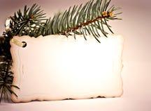 χαιρετισμός Χριστουγένν&om Στοκ Φωτογραφίες