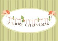 χαιρετισμός Χριστουγένν&ome ελεύθερη απεικόνιση δικαιώματος