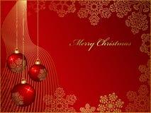 χαιρετισμός Χριστουγένν&ome Στοκ φωτογραφίες με δικαίωμα ελεύθερης χρήσης