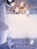 χαιρετισμός Χριστουγένν&ome Στοκ φωτογραφία με δικαίωμα ελεύθερης χρήσης