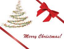 χαιρετισμός Χριστουγένν&ome διανυσματική απεικόνιση