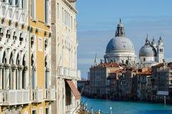 Χαιρετισμός della της Σάντα Μαρία βασιλικών, Βενετία Στοκ εικόνα με δικαίωμα ελεύθερης χρήσης