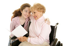 χαιρετισμός grandma στοκ εικόνες
