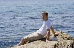 χαλάρωση ατόμων Στοκ Φωτογραφίες
