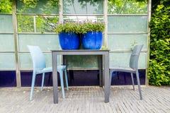 χαλάρωση κήπων Στοκ Φωτογραφίες