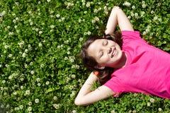 χαλάρωση παιδιών Στοκ Φωτογραφίες