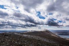 Χαλάστε το βουνό εκκλησιών Ahron Στοκ εικόνες με δικαίωμα ελεύθερης χρήσης
