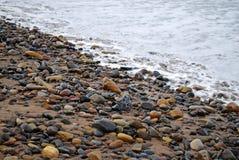 χαλίκια ακτών Στοκ φωτογραφίες με δικαίωμα ελεύθερης χρήσης