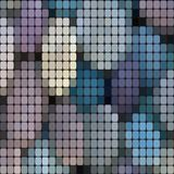 χαλίκια γεωμετρικό polygonal ύφος απεικόνισης r ελεύθερη απεικόνιση δικαιώματος