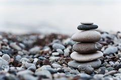 Χαλίκι στην παραλία Στοκ Φωτογραφίες