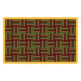 Χαλί Kwanzaa διανυσματική απεικόνιση