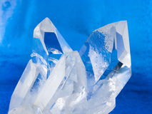 χαλαζίας κρυστάλλων Στοκ φωτογραφία με δικαίωμα ελεύθερης χρήσης
