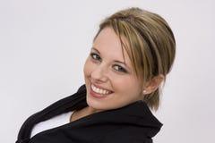 χαλαρωμένο χαμόγελο Στοκ φωτογραφία με δικαίωμα ελεύθερης χρήσης