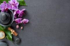 Χαλαρώστε και έννοια ομορφιάς στη SPA Στοκ Εικόνες