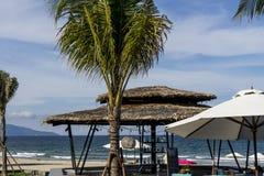 Χαλαρώστε στην παραλία Στοκ φωτογραφίες με δικαίωμα ελεύθερης χρήσης