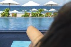 Χαλαρώστε στην παραλία Στοκ εικόνες με δικαίωμα ελεύθερης χρήσης