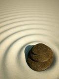 χαλαρώστε sand spa το ηφαίστειο πετρών zen Διανυσματική απεικόνιση