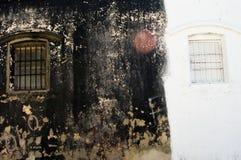 χαλασμένος τοίχος Στοκ φωτογραφία με δικαίωμα ελεύθερης χρήσης