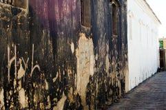 χαλασμένος τοίχος Στοκ Εικόνες