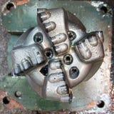 Χαλασμένο δυαδικό ψηφίο διατρήσεων PDC Στοκ Φωτογραφία