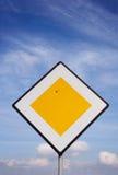 Χαλασμένο οδικό σημάδι Στοκ φωτογραφίες με δικαίωμα ελεύθερης χρήσης